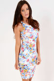 Jil Floral Bodycon Dress