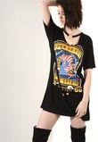 Born To Fly Roll Ring Chocker T-Shirt Dress