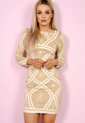 Cream & White Ali Dress