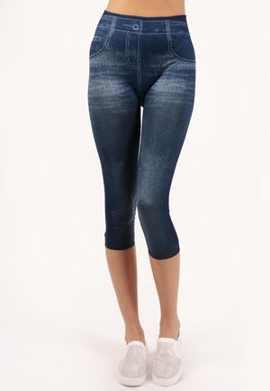 Systie Blue Stretch High Waisted Jeggings