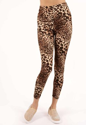 Linny Leopard High Waisted Jeggings