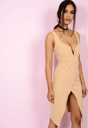 Nelly Nude Bodycon