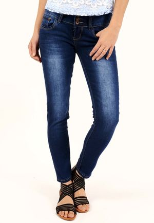 Briea Blue Skinny Jeans
