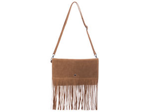 Heidi Tan Cross Body Tassel Bag-Copy