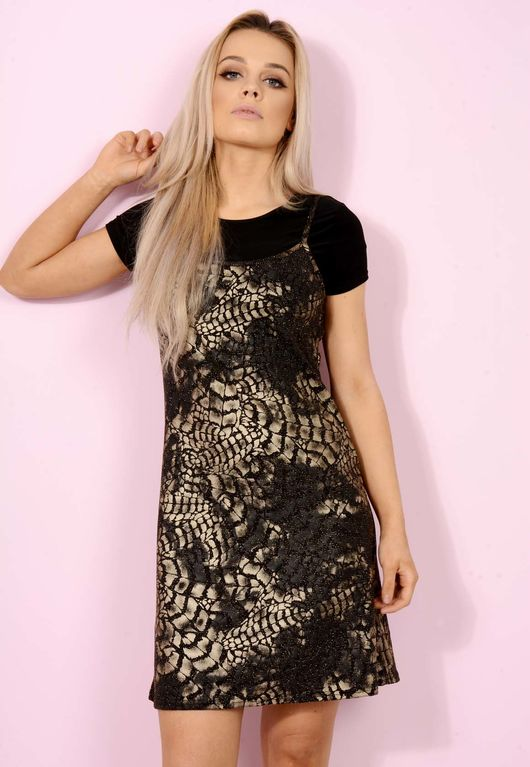 Sparkle T-Shirt Dress