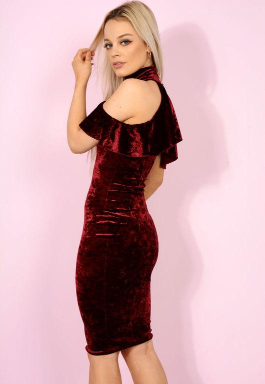 Moulin Rouge Wine Bodycon